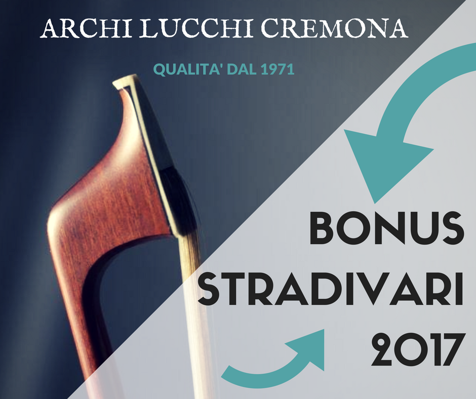Bonus stradivari 2017 ARCO